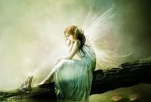 Fairies Creatures Watercolor Inspirations / by Jennifer Cortner