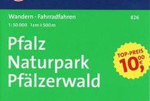 Pfalz Wanderkarten / Wanderkarten für die Pfalz, Pfälzerwald und die Deutsche Weinstraße
