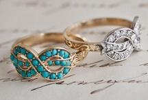 "All that glitters... / ""Diamonds are a girl's best friend."" Or gold, silver, turquoise, etc...."