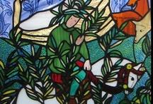 Vitrail - Stained glass / Les créations de Maman sont sur le site : http://ohlebeauvitrail.blogspot.fr