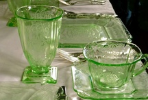 Depression Glass Antique Dishes