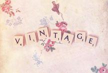 Vintage / by Aunt Cec