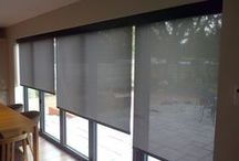 Electric Blinds / These 240v electric blinds look stunning in any home, Deans can offer a number of different types of blind, all easy to use with remote control or wire free wall switch, we have a huge choice of fabrics to choose from to finish of your room perfectly. Call Deans on 020-8947-8931 or email williamdale@deansblinds.co.uk