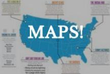 MAPS! / Maps are awesome, and we have some great ones to share! / by Matador Network - Travel Culture Worldwide