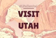 #LifeElevated ➤ Visit Utah! / This board was proudly produced in partnership with Utah, home of The Mighty 5®. / by Matador Network - Travel Culture Worldwide