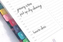 Get Organized / Gotta get organized & these things could help!