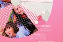 Scrapbooking - Classic Scrapbooking 4 / Additional clean and simple, graphic and linear layouts. / by Heather Verran