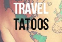 Travel Tattoos: Ink from Around the World / Some of us have tattoos from our travels. Others share our thirst for wanderlust. We share the best travel tattoo images from around the world! / by Matador Network - Travel Culture Worldwide
