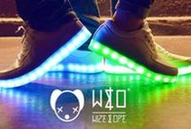 led shoes THE LIGHT WIZE&OPE / led shoes x WIZE&OPE