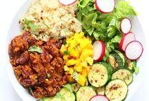 Vegetarian, Vegan, Gluten free, Organic foods / Non-GMO and healthy recipes.