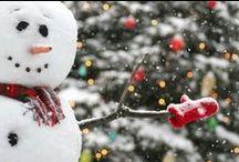 Kerst en sneeuw / De stad verstomde. Mijn verbeelding ging over de torens heen naar Bethlehem. 2000 jaren her is daar een kind/ zojuist geboren en de moeder windt het in een doek. De ezel en de man/ maken het nuchter mee. Een engel zingt.  Uit: Kerstmis - Gerrit Achterberg
