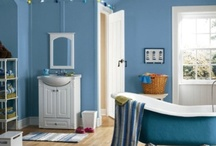 Paint Colors for Bathrooms / Discover inspiration with Sherwin-Williams paints. Find inspiration for bathroom paint colors and try out a selection of paint swatches today.