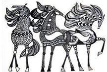 Equestrian Pursuits / by Sarah Loggie