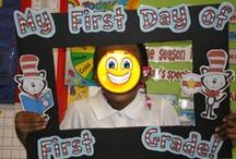 Back to School / Back to School goodies, first day activities, first grade, September activities
