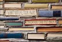 Book Decorating / There's something so fun about decorating with #books!
