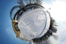 360 Degrees Panorama Planets Around The World
