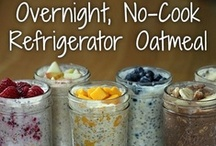 Meal in a Jar / Breakfast and Lunch you can put in a Jar and take to work. The best oatmeals.