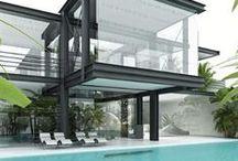 Dream House / Architecture / by Michele de Souza Ribeiro
