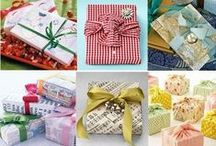 It's A Wrap.  / Wrapping gifts and presents / by Tammy: PinkSparkleAndLace