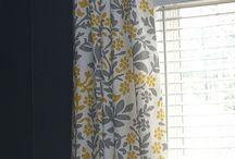 •Curtains•