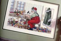 Cross Stitch  Christmas / by Mary Ann Scaife