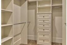 Closet / closet design/organization