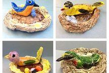 Art: Sculpture & Clay