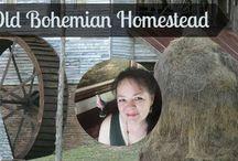 Bohemian Homesteading / Homesteading with Bohemian flair.