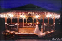 Lakeside Receptions / Elegant outdoor Lakeside weddings at Lakeside Reflections in Jeffersonville Indiana