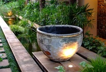 Outdoor spaces and gardens / by Christine Passwater