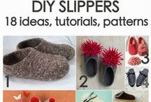 shoes! DIY / by MammaNene @ Serger Pepper