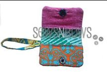 Wallets, pouches, clutches.... / by MammaNene @ Serger Pepper