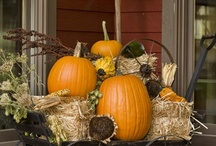 Autumn & Fall ~ / Fall decorating and food to warm the soul...