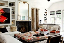 Living rooms / by Joan Woodbrey Crocker