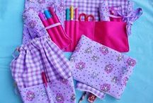 sewing projects school-related / by MammaNene @ Serger Pepper