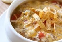 soups.....sluuuuurp / by Sandy Davis