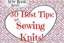 sewing knits! / Everything you need to know to sew perfectly your knits, lycra, spandex, interlock, Roma, ponte....  Plus: loads of inspirations! Don't be scared from sewing knits: Sew Much Fun! Ask me to add you as a contributor (info@sergerpepper.com), if you think you have something to pin here! Happy sewing :) MammaNene @ SergerPepper.com / by MammaNene @ Serger Pepper