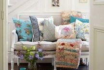 pillows / by C'estChouetteHome/WollWorks