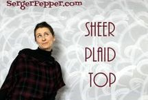Plaid Challenge / by MammaNene @ Serger Pepper