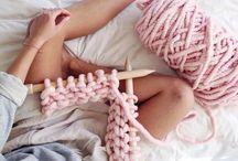 DIY: Fabric, yarn & leather / Knitting