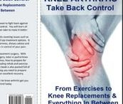 Knee Pain Books / Great resources for knee pain sufferers.  Take back control today!