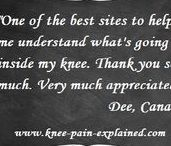 Visitor Comments / Greats resources for anyone who suffers from knee pain