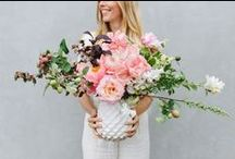 Flowers / petals and leaves we love by florists we admire