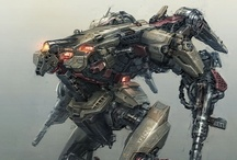 Robots, Mechs, Armor, and Space Ships / 2D and 3D art focused around robots, mechs, and space ships / by Richard Cabrera