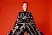 Fabulous! / Lots of Bowie, punk, funk, fabulosity, and guyliner. / by Stacy Bakri