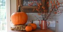 Fall / Home Decor or anything Fall related. I adore Fall!