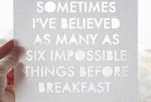Well Said / by Sandra Kline