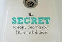 Helpful Household Hints / Household hacks, tips, tricks, to make cleaning and organizing a breeze