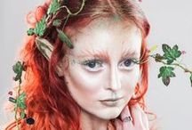 Costuming - Hair and Makeup / Make up, hair, special effects (non garment) / by Stacy Bakri