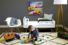 modern boy I ROOMS / Ideas for art in a little boy's playroom or nursery. Modern Boy's Room // Art ideas